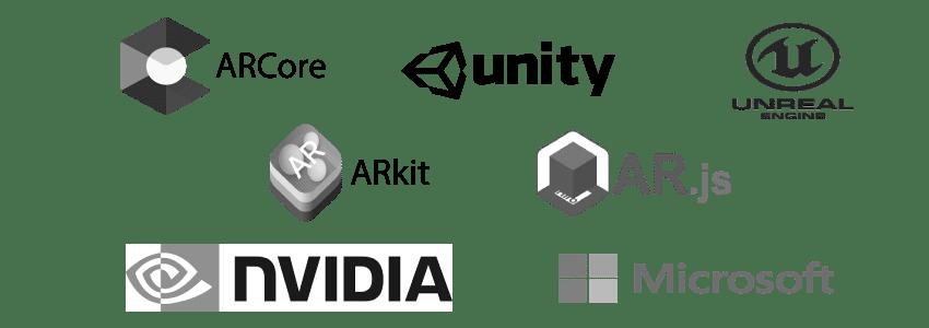 AR Technologien Herstellerlogos